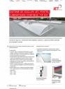 Sisteme de socluri pentru luminatoare continue