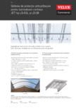 Sistem de protectie anti-prabusire pentru luminatoare continue VELUX Commercial -  LB-DS / LB-SR