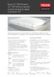 Cupole luminatoare pentru acoperisuri cu panta mica VELUX Commercial - TOP 90