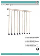 Garda de corp etaj 100 cm SOGEM