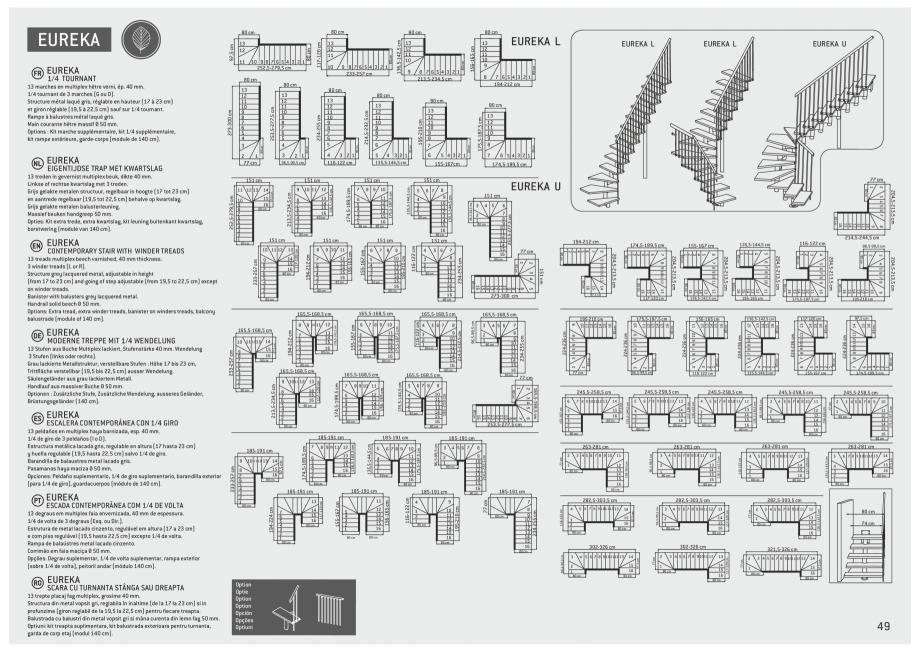 Pagina 50 - Scari in kit din lemn si din metal SOGEM Alaska, Alpha, Arizona, Atlantis, Delta,...