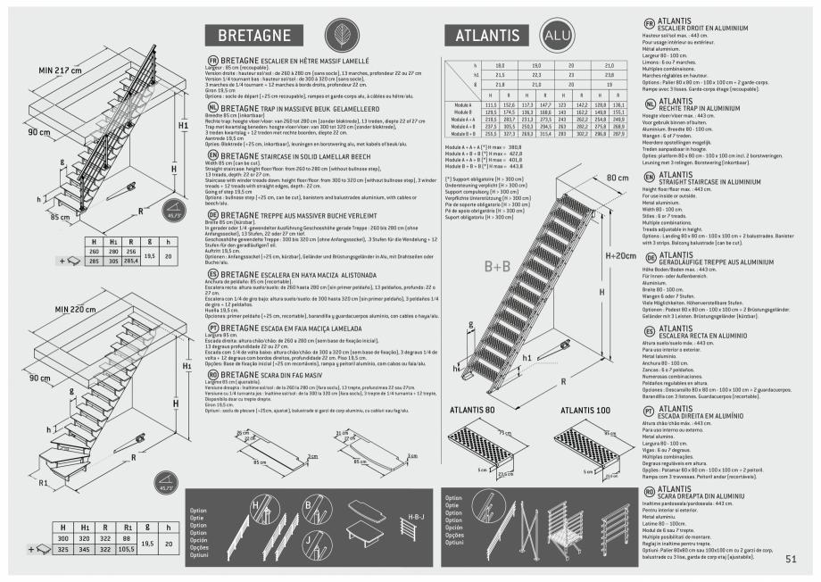 Pagina 52 - Scari in kit din lemn si din metal SOGEM Alaska, Alpha, Arizona, Atlantis, Delta,...
