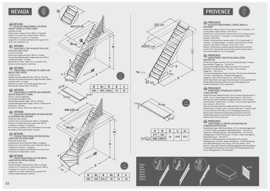 Pagina 53 - Scari in kit din lemn si din metal SOGEM Alaska, Alpha, Arizona, Atlantis, Delta,...
