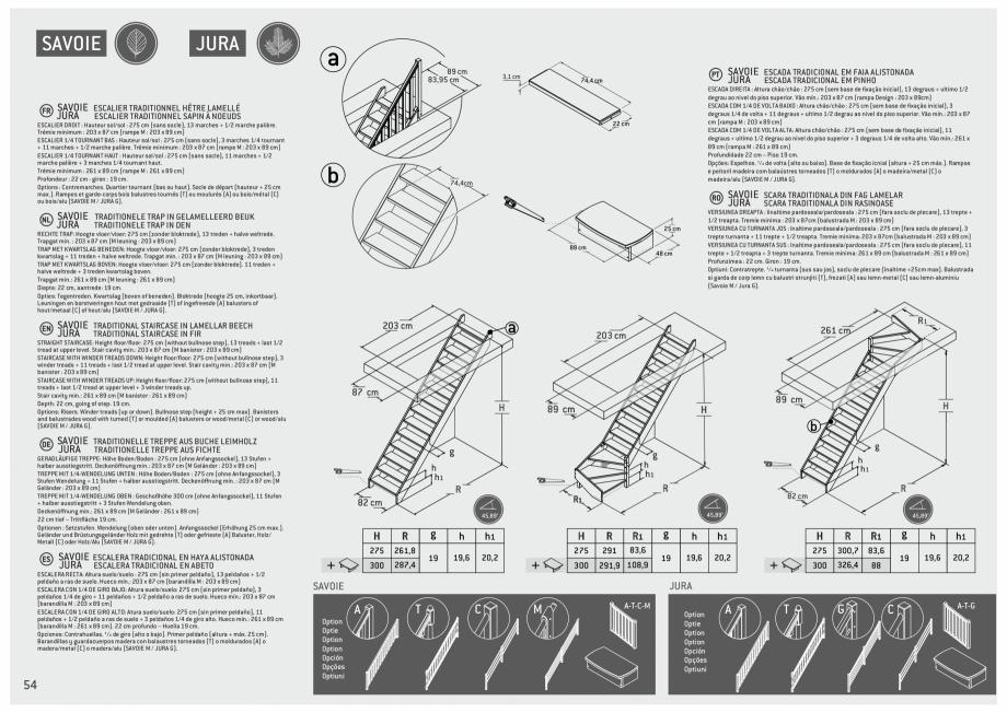 Pagina 55 - Scari in kit din lemn si din metal SOGEM Alaska, Alpha, Arizona, Atlantis, Delta,...