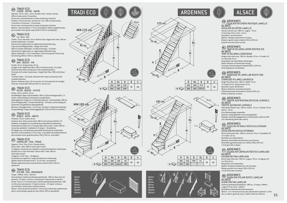 Pagina 56 - Scari in kit din lemn si din metal SOGEM Alaska, Alpha, Arizona, Atlantis, Delta,...