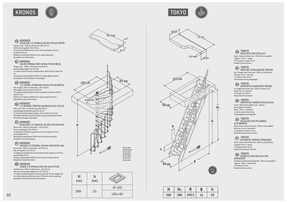 Pagina 61 - Scari in kit din lemn si din metal SOGEM Alaska, Alpha, Arizona, Atlantis, Delta,...