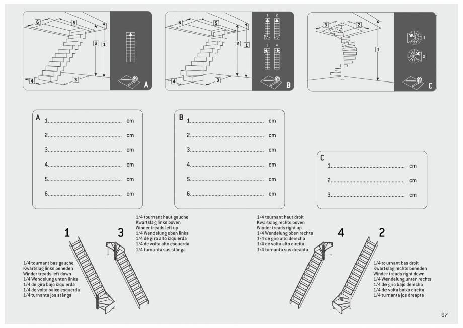 Pagina 68 - Scari in kit din lemn si din metal SOGEM Alaska, Alpha, Arizona, Atlantis, Delta,...