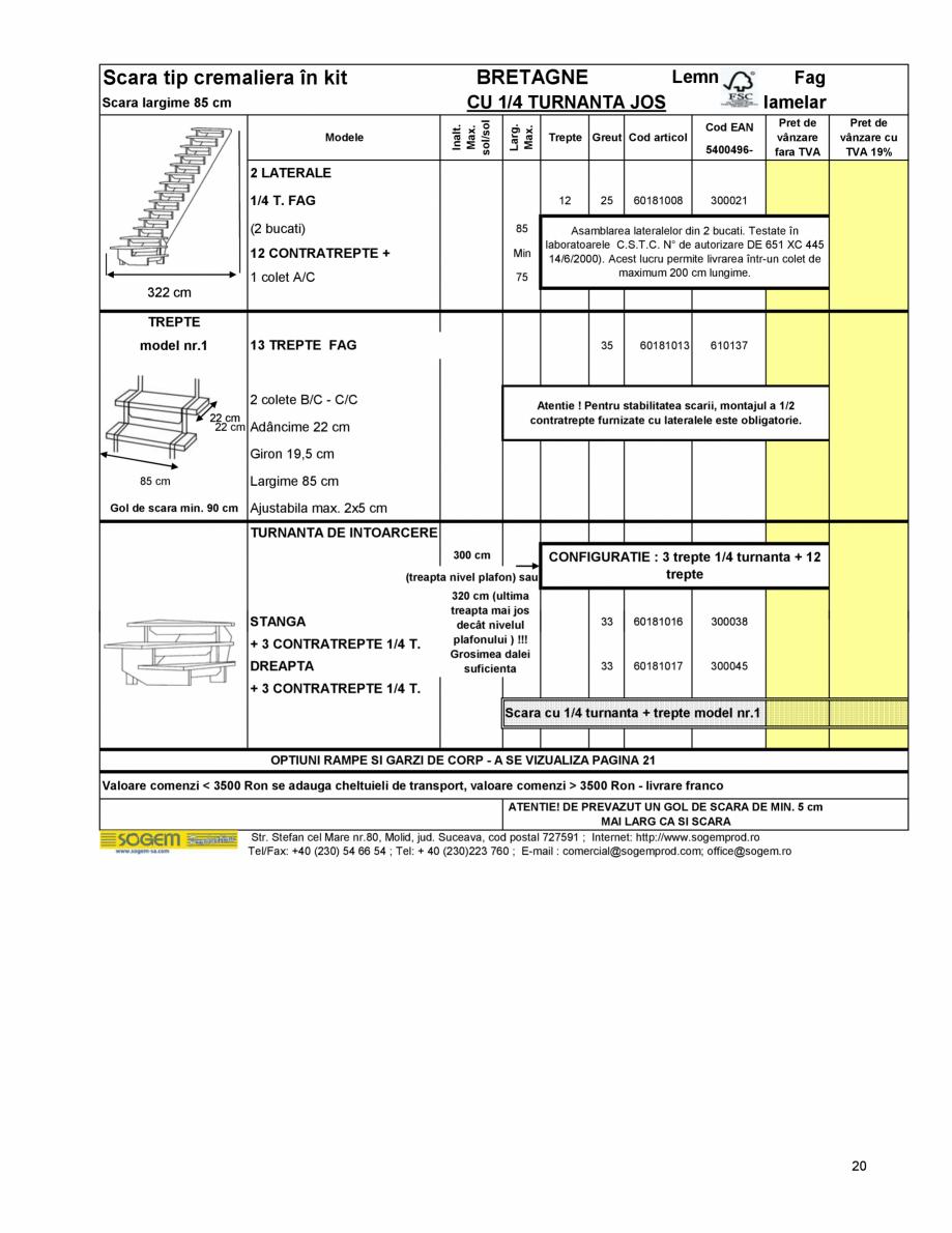 Pagina 21 - Scari moderne pe structura metalica  SOGEM Etna, Atlantis, Eureka, Kronos, Phoenix,...