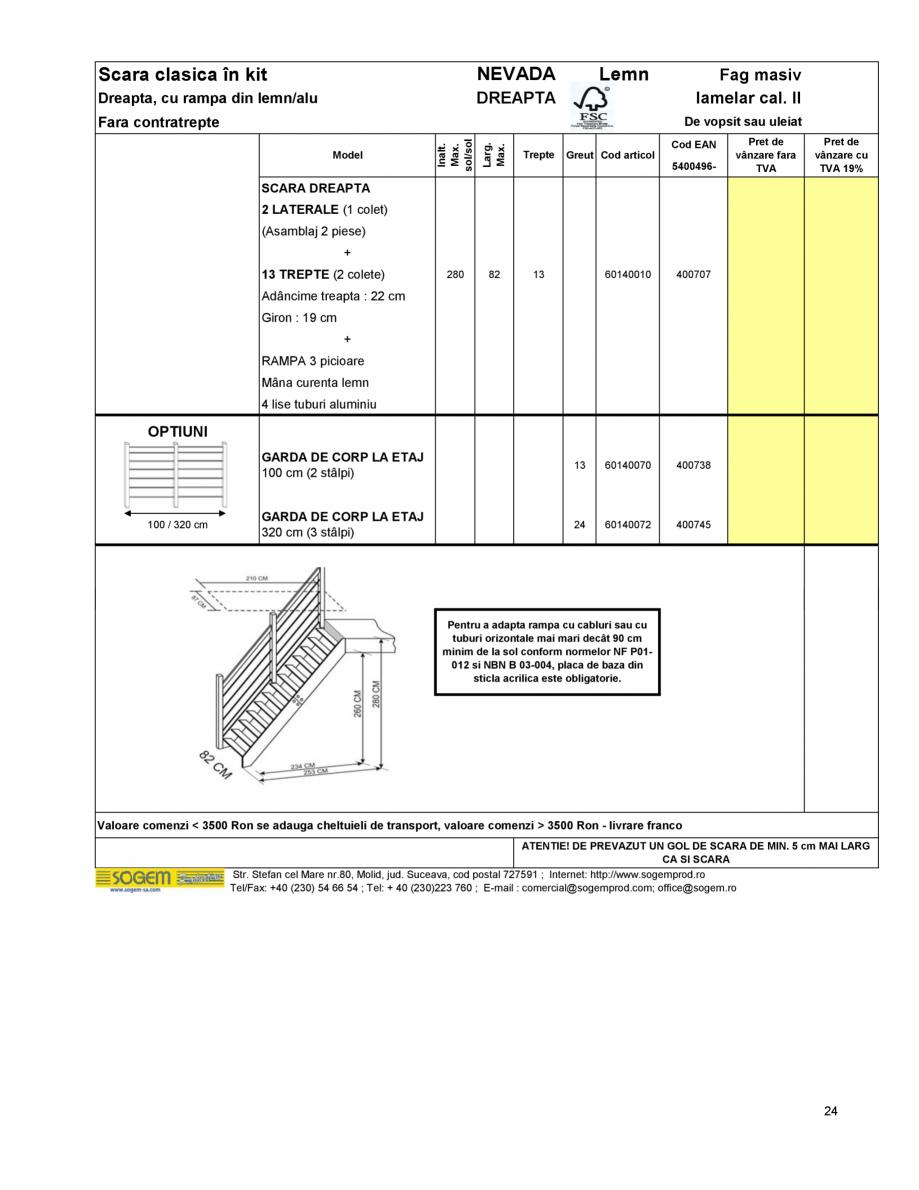 Pagina 26 - Scari moderne pe structura metalica  SOGEM Etna, Atlantis, Eureka, Kronos, Phoenix,...