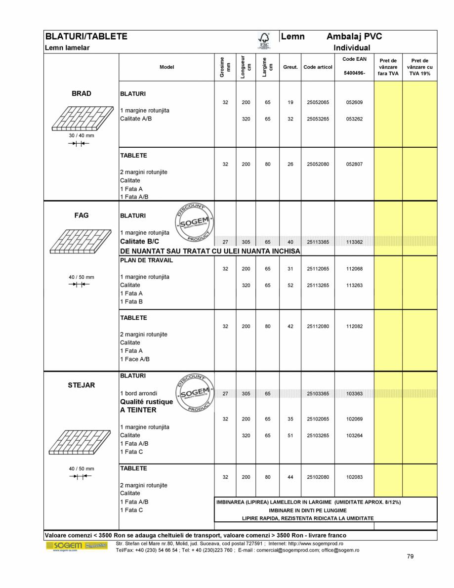 Pagina 86 - Scari moderne pe structura metalica  SOGEM Etna, Atlantis, Eureka, Kronos, Phoenix,...