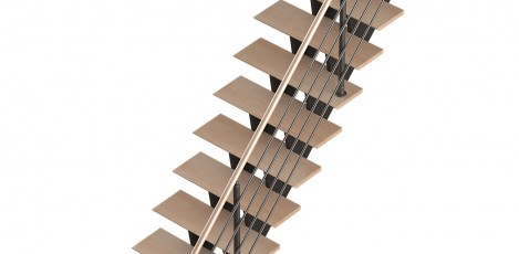 Scara pe structura metalica Biax SOGEM - Poza 3