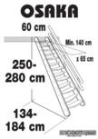 Scara pe structura din lemn SOGEM - Osaka