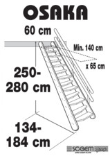 Scara pe structura din lemn SOGEM