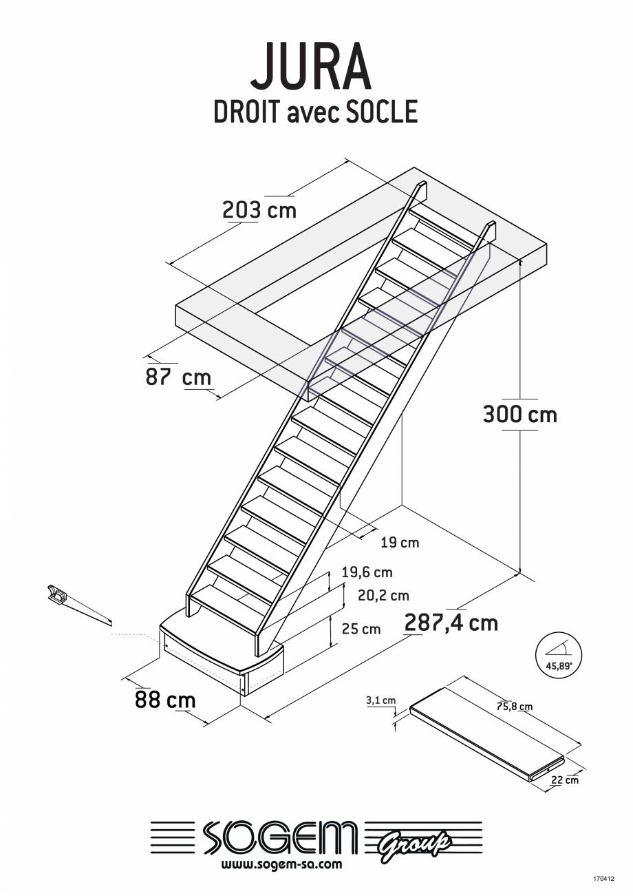 Pagina 2 - Scari pe structura din lemn SOGEM Jura Fisa tehnica Romana