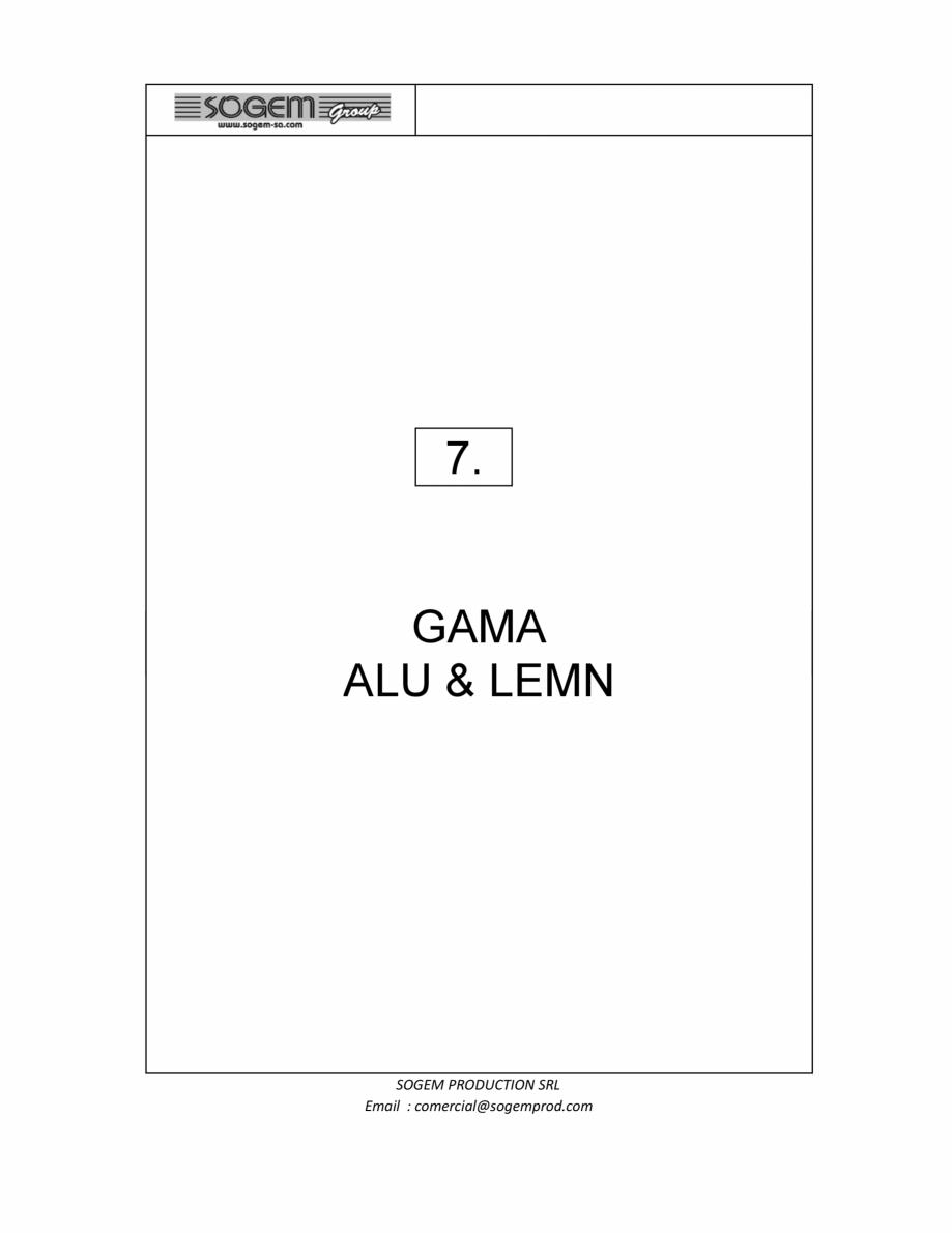 Pagina 67 - Scari moderne SOGEM Gomera, Kalea, Tambora, Triax, Auvergne, Bretagne, Osaka, Tokyo,...