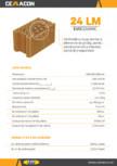 Caramida cu locas mortar si elemente de ghidaj pentru pereti exteriori si interiori portanti si neportanti