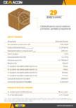Caramida pentru pereti exteriori si interiori, portanti si neportanti CEMACON - EVOCERAMIC EC 29