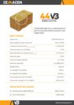 Caramida izolanta cu vata bazaltica pentru pereti exteriori portanti sau neportanti CEMACON - EVOCERAMIC EC 44