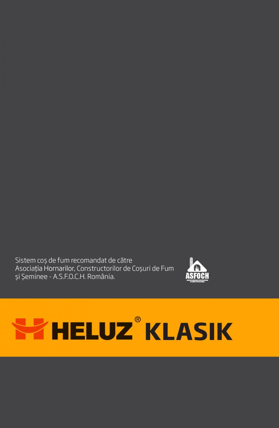 Pagina 23 - Instructiuni de punere in opera a cosului de fum HELUZ Instructiuni montaj, utilizare...