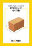 Detalii de executie CEMACON - EVOCERAMIC 44 VB