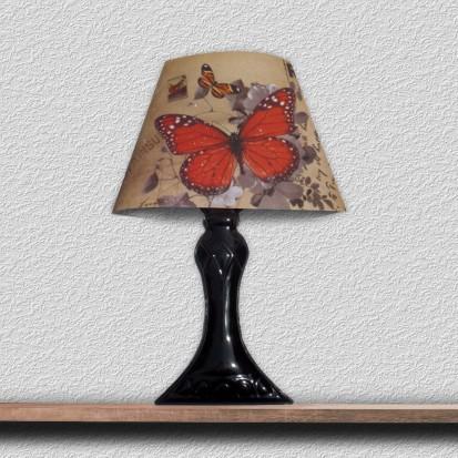 Sticker 3D cu LED in forma de veioza / Sticker 3D LED - Veioza cu Fluture