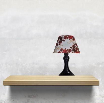 Sticker 3D cu LED in forma de veioza / Sticker 3D LED - Veioza Trandafiri Rosii