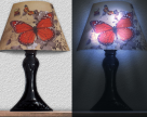 Stickere 3D cu LED in forma de veioza sau aplica Easy Decoration
