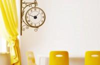 Stickere decorative tip ceas de perete Peste 70 de modele de stickere si 3 mecanisme de ceas din care puteti alege!