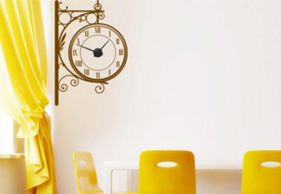Stickere decorative tip ceas de perete Beestick