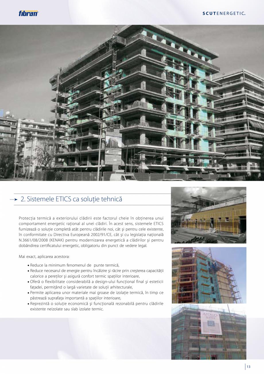 Pagina 11 - Sisteme compozite pentru termoizolarea peretilor exteriori FIBRANxps ETICS GF, ETICS BT ...