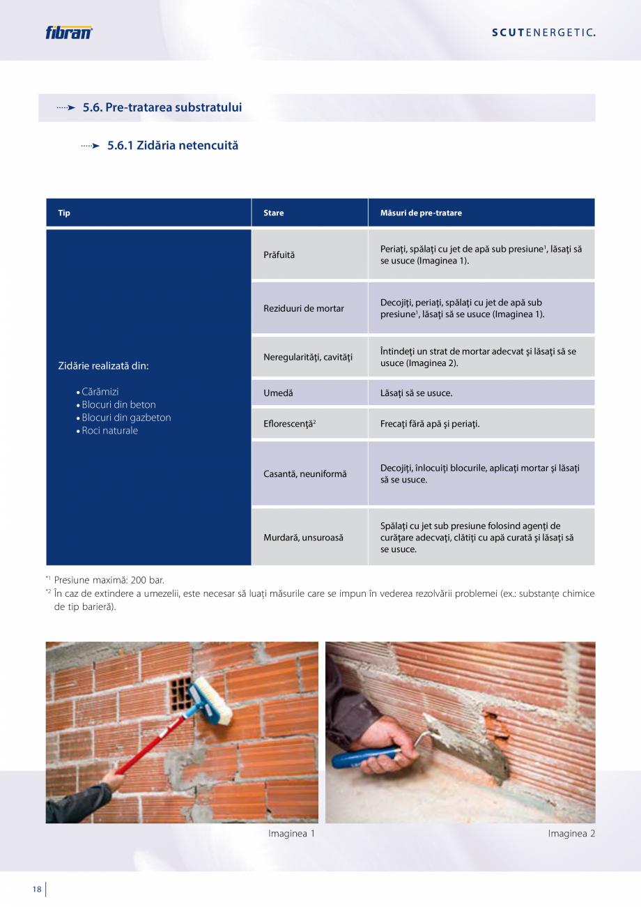 Pagina 16 - Sisteme compozite pentru termoizolarea peretilor exteriori FIBRANxps ETICS GF, ETICS BT ...