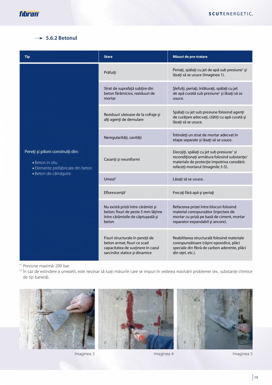 Pagina 17 - Sisteme compozite pentru termoizolarea peretilor exteriori FIBRANxps ETICS GF, ETICS BT ...