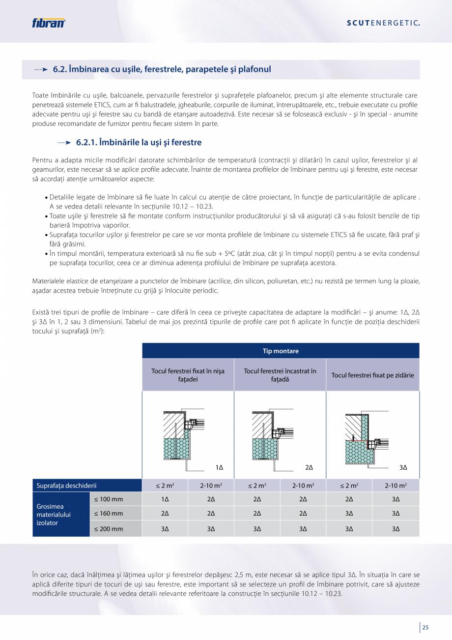 Pagina 23 - Sisteme compozite pentru termoizolarea peretilor exteriori FIBRANxps ETICS GF, ETICS BT ...