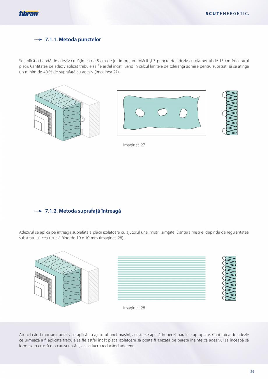 Pagina 27 - Sisteme compozite pentru termoizolarea peretilor exteriori FIBRANxps ETICS GF, ETICS BT ...