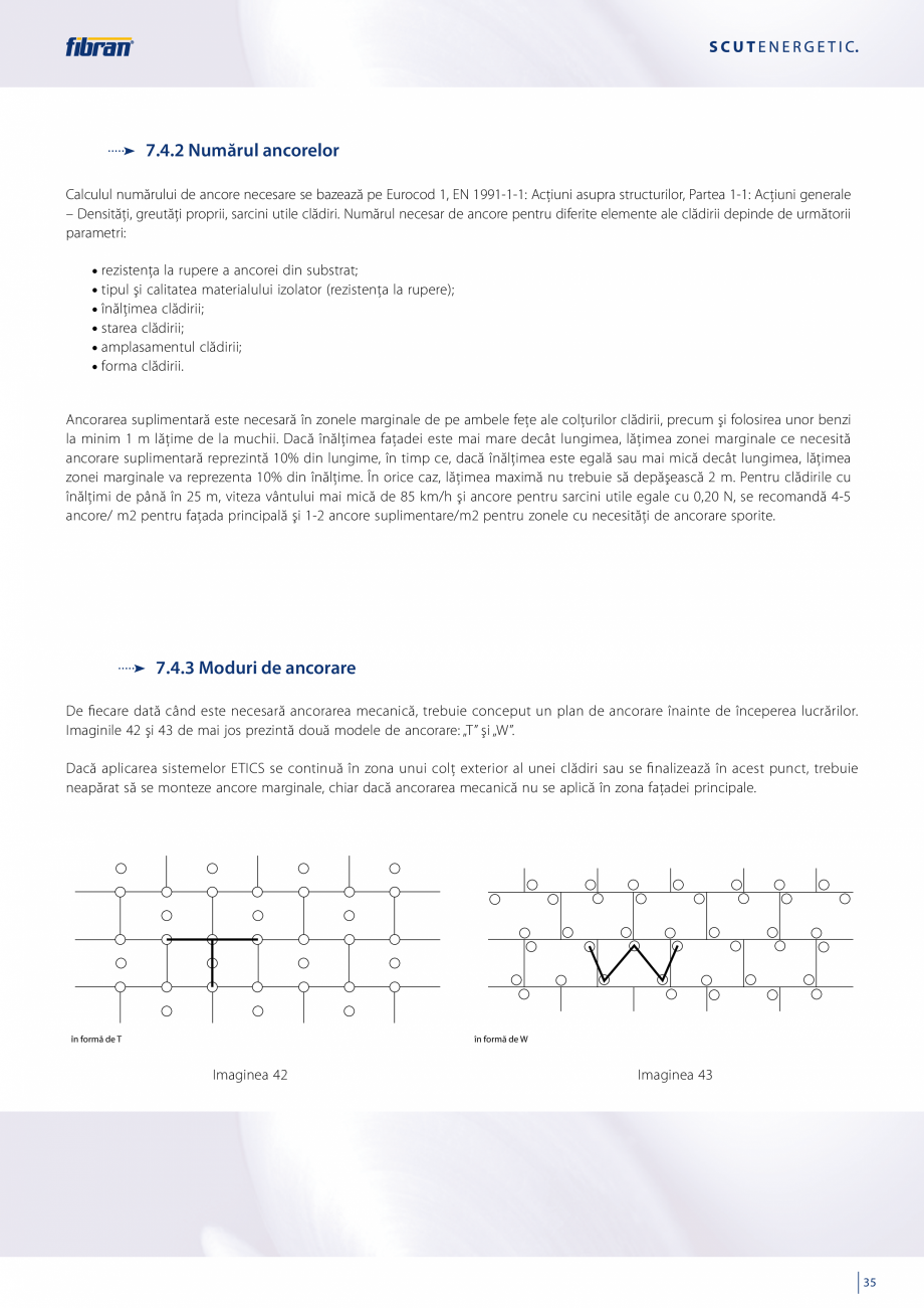 Pagina 33 - Sisteme compozite pentru termoizolarea peretilor exteriori FIBRANxps ETICS GF, ETICS BT ...