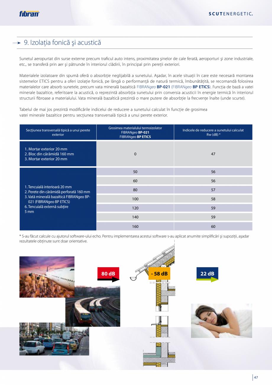 Pagina 45 - Sisteme compozite pentru termoizolarea peretilor exteriori FIBRANxps ETICS GF, ETICS BT ...