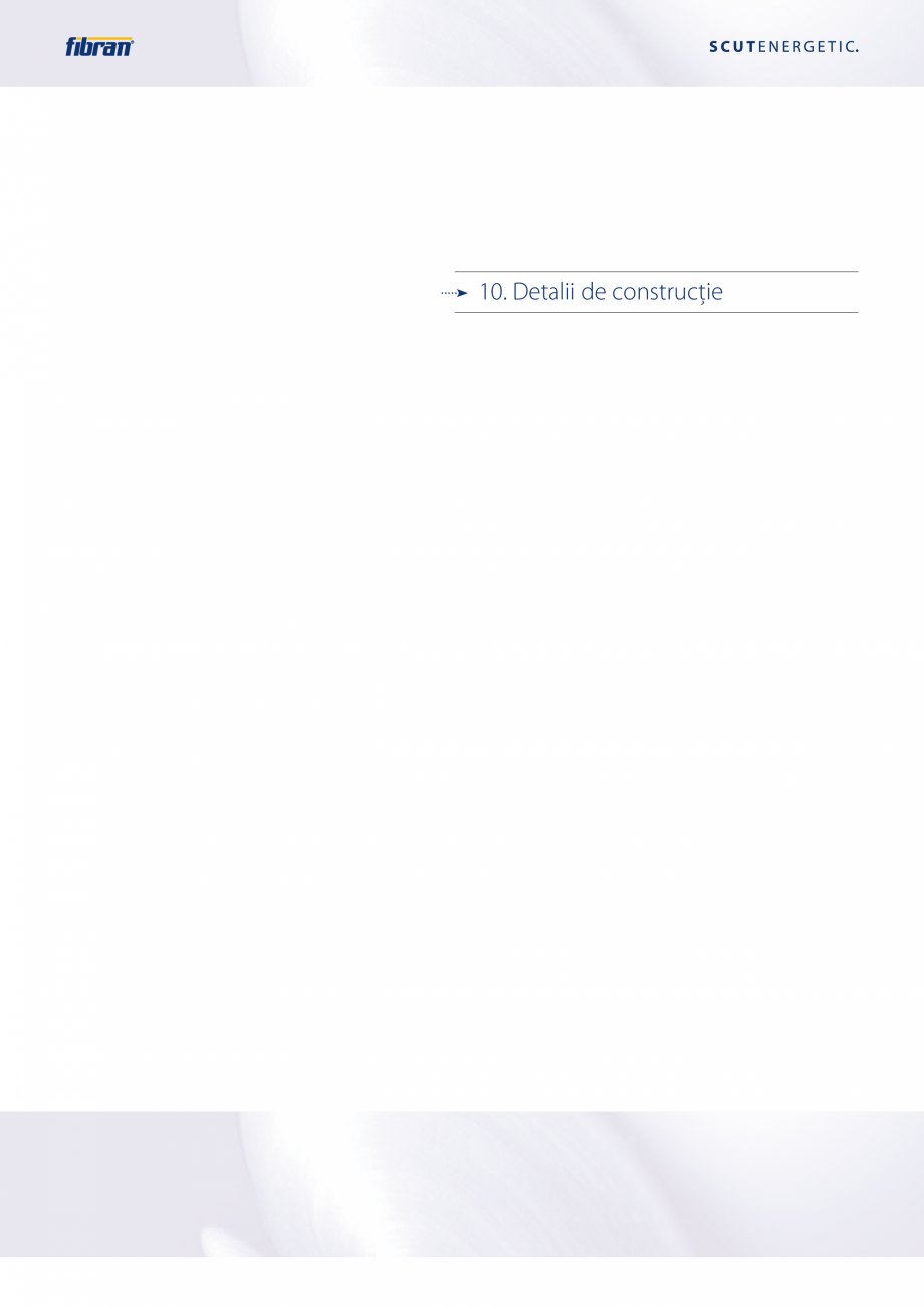 Pagina 47 - Sisteme compozite pentru termoizolarea peretilor exteriori FIBRANxps ETICS GF, ETICS BT ...