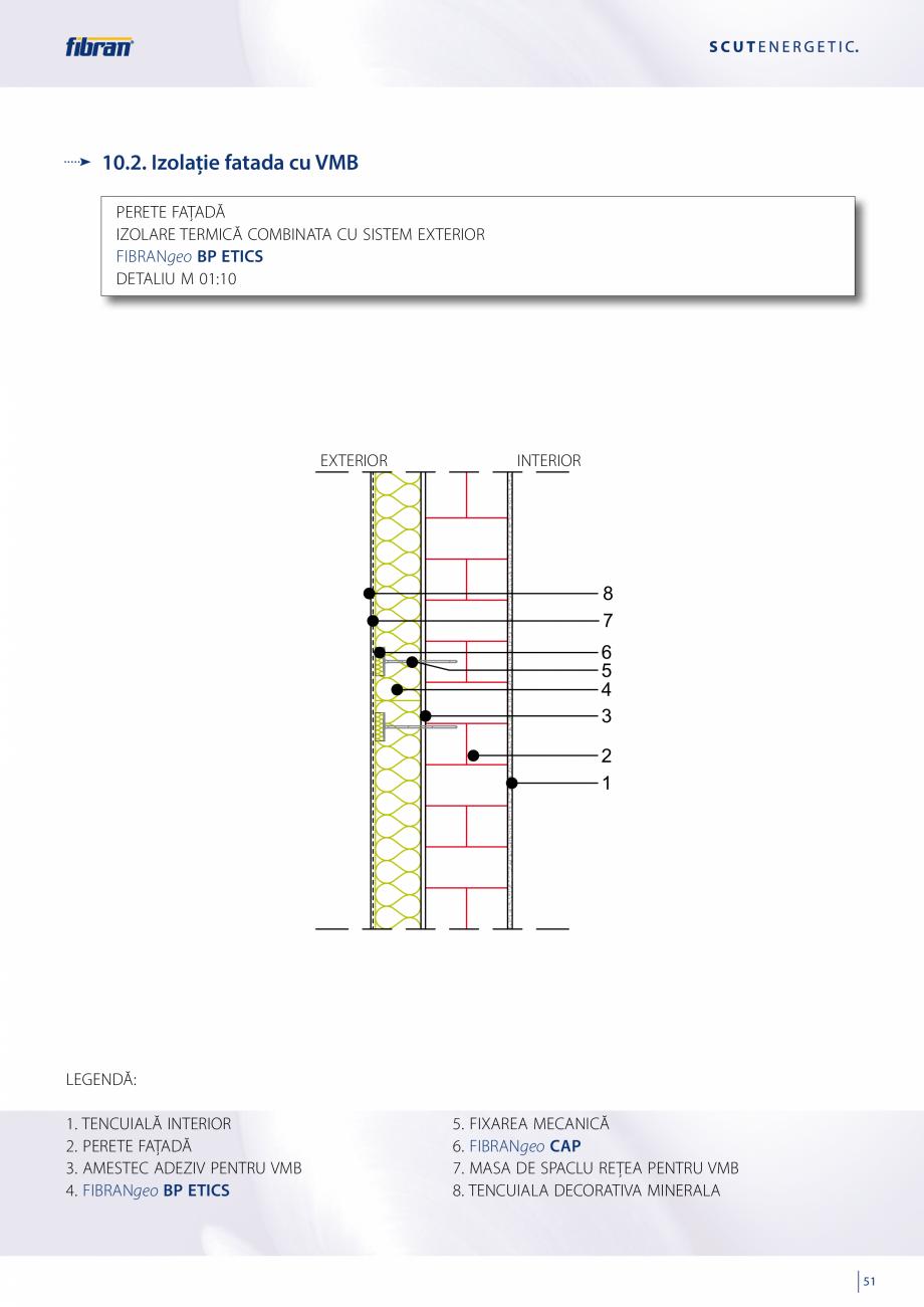 Pagina 49 - Sisteme compozite pentru termoizolarea peretilor exteriori FIBRANxps ETICS GF, ETICS BT ...