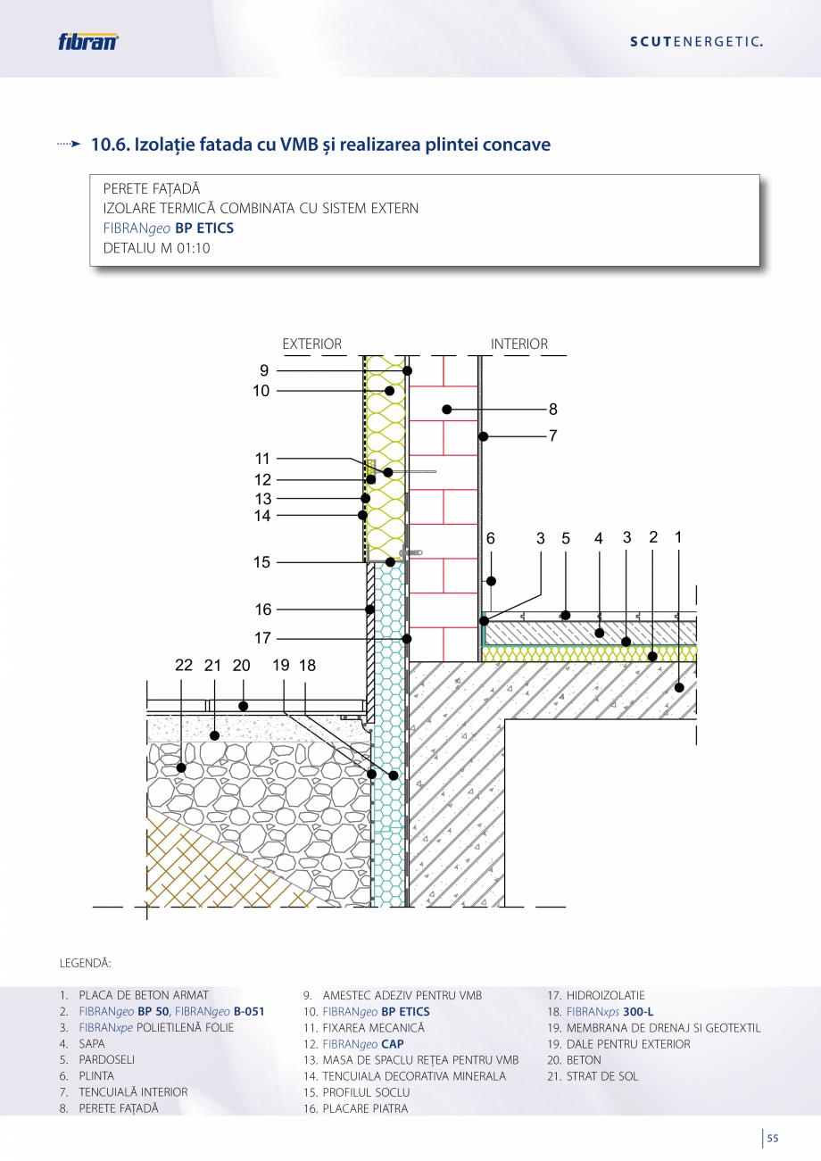 Pagina 53 - Sisteme compozite pentru termoizolarea peretilor exteriori FIBRANxps ETICS GF, ETICS BT ...