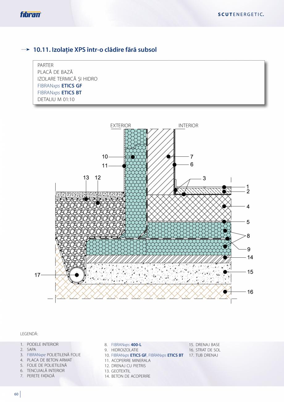 Pagina 58 - Sisteme compozite pentru termoizolarea peretilor exteriori FIBRANxps ETICS GF, ETICS BT ...