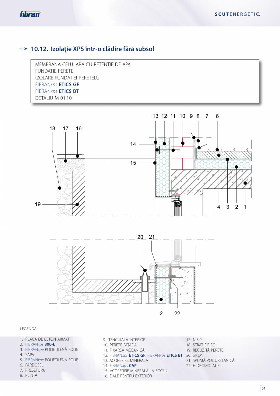 Pagina 59 - Sisteme compozite pentru termoizolarea peretilor exteriori FIBRANxps ETICS GF, ETICS BT ...
