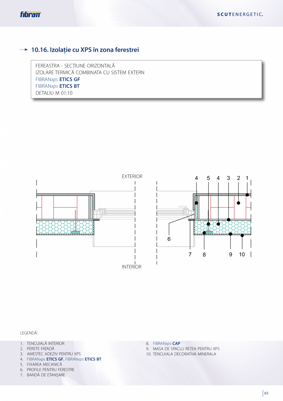 Pagina 63 - Sisteme compozite pentru termoizolarea peretilor exteriori FIBRANxps ETICS GF, ETICS BT ...