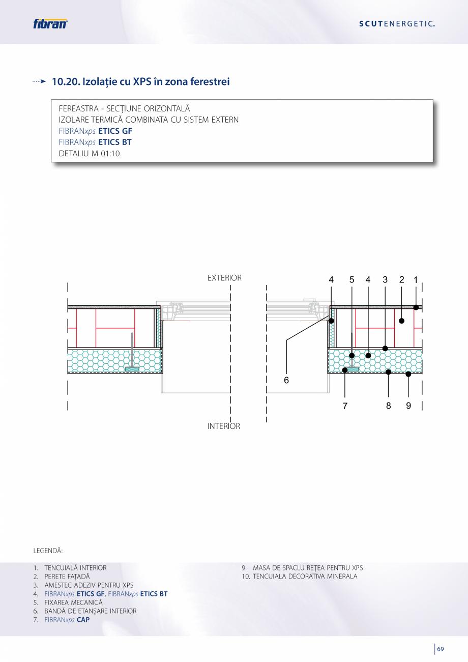 Pagina 67 - Sisteme compozite pentru termoizolarea peretilor exteriori FIBRANxps ETICS GF, ETICS BT ...