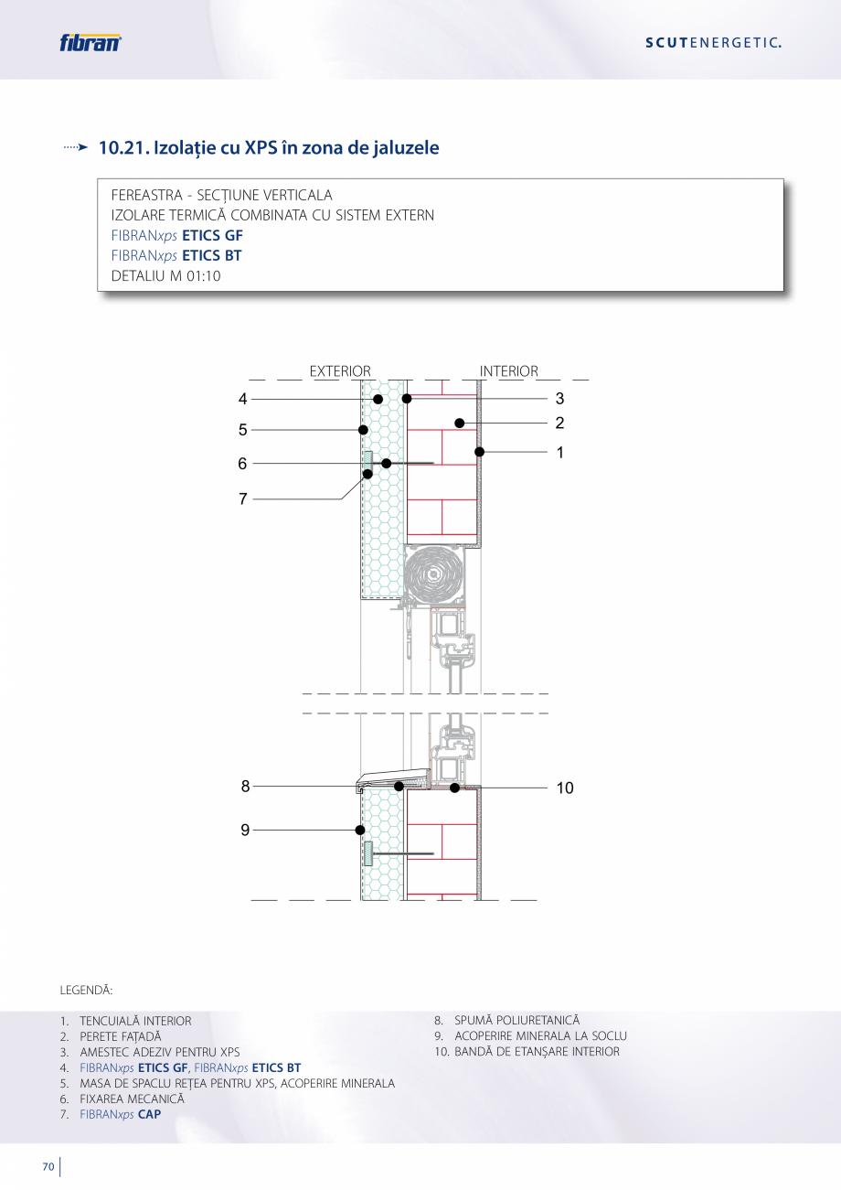 Pagina 68 - Sisteme compozite pentru termoizolarea peretilor exteriori FIBRANxps ETICS GF, ETICS BT ...