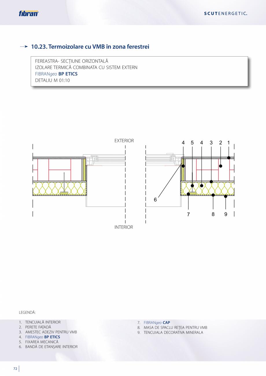 Pagina 70 - Sisteme compozite pentru termoizolarea peretilor exteriori FIBRANxps ETICS GF, ETICS BT ...