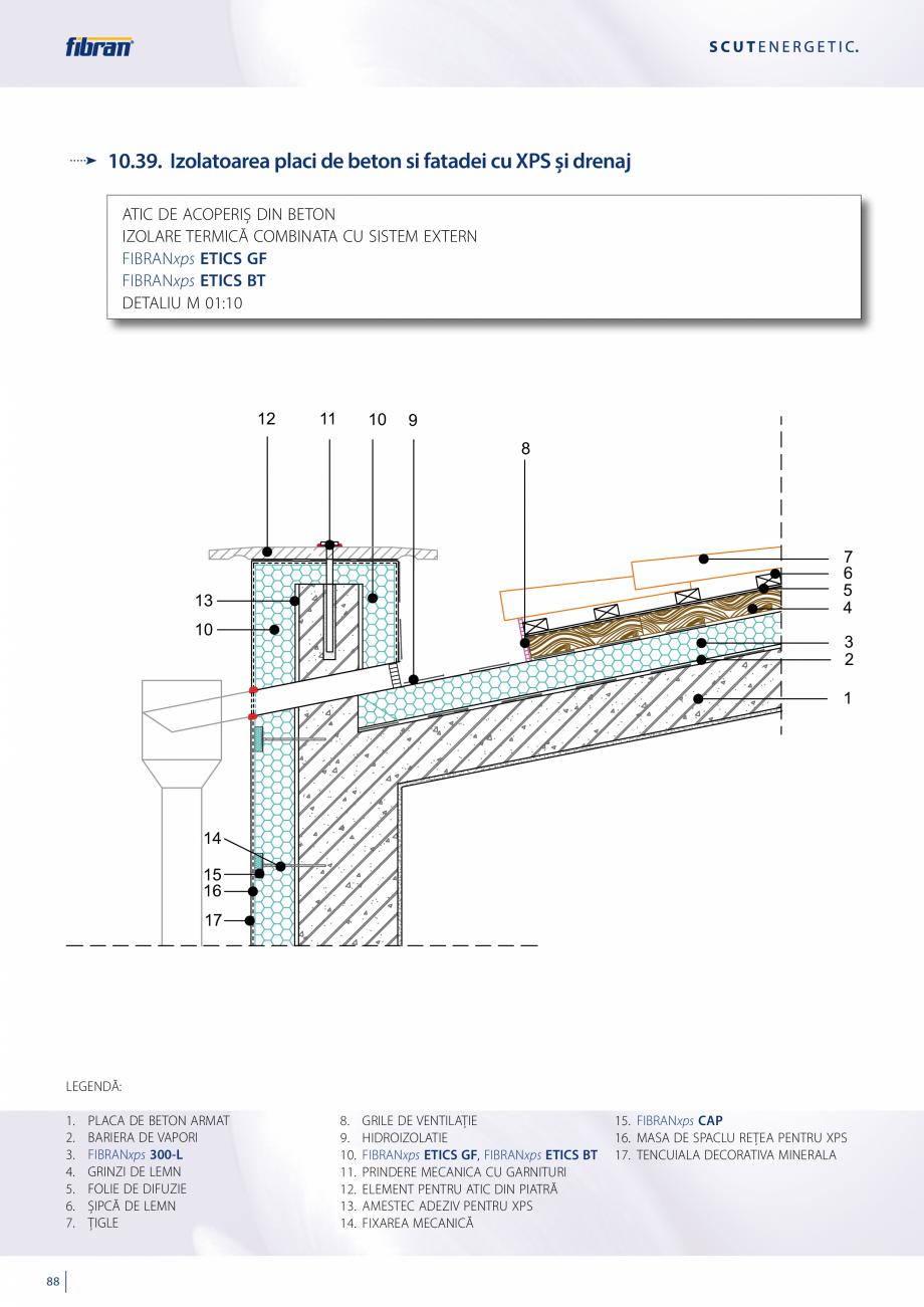 Pagina 86 - Sisteme compozite pentru termoizolarea peretilor exteriori FIBRANxps ETICS GF, ETICS BT ...