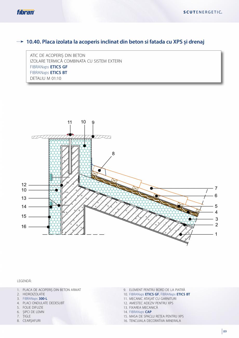 Pagina 87 - Sisteme compozite pentru termoizolarea peretilor exteriori FIBRANxps ETICS GF, ETICS BT ...