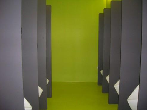 Exemple de utilizare Placi HPL pentru grupuri sanitare FUNDERMAX - Poza 3