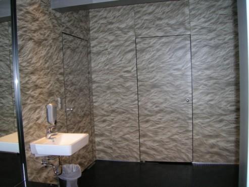 Exemple de utilizare Placi HPL pentru grupuri sanitare FUNDERMAX - Poza 2
