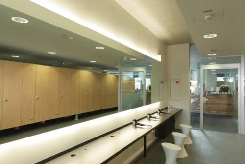 Exemple de utilizare Placi HPL pentru grupuri sanitare FUNDERMAX - Poza 10